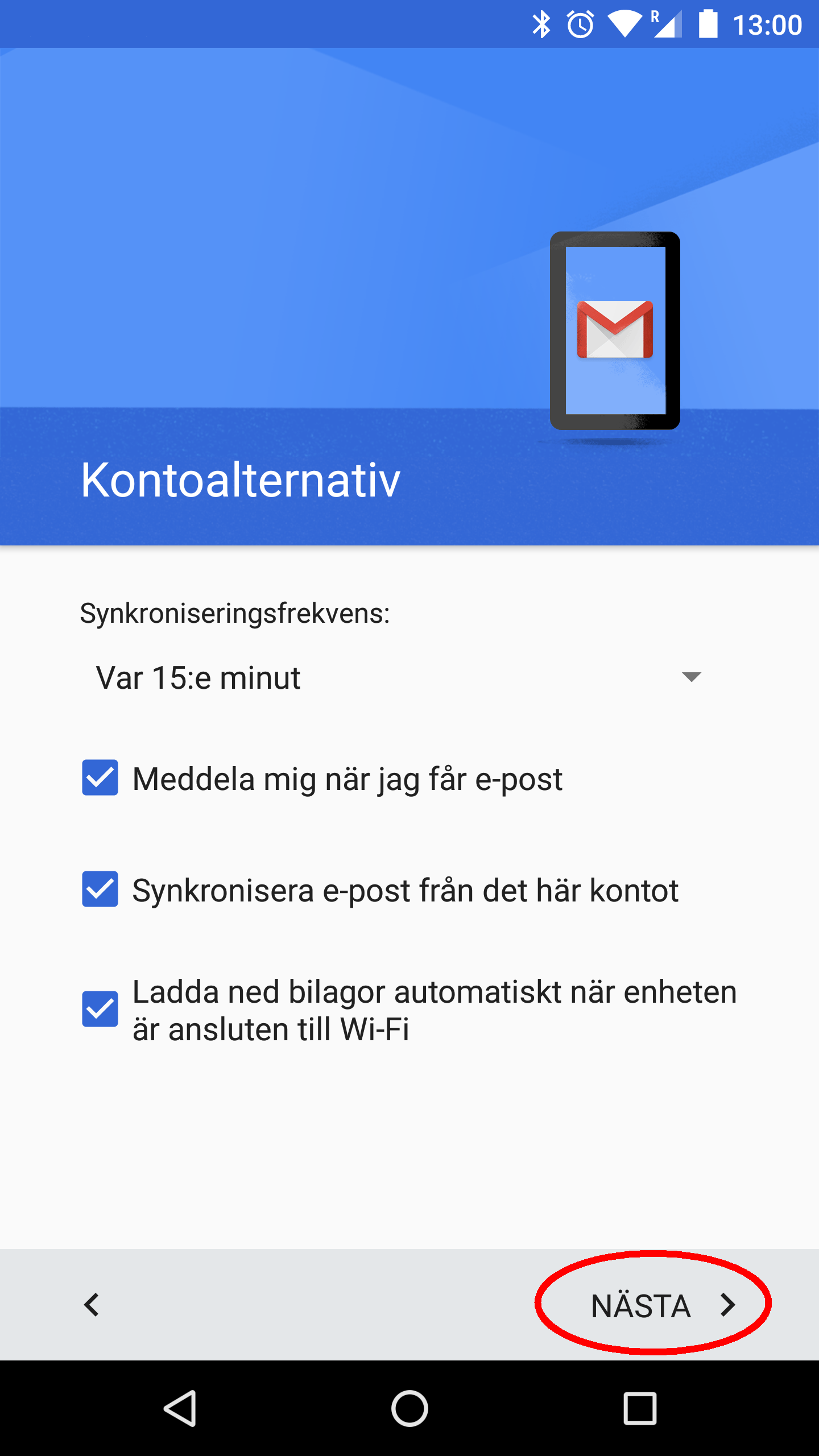 Android Gmail IMAP 09
