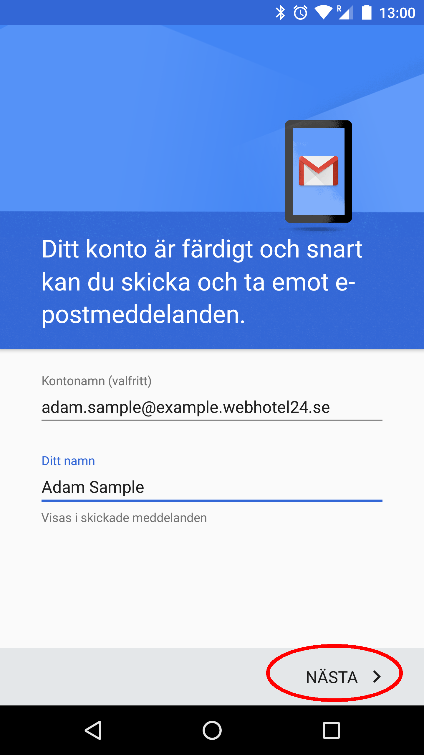 Android Gmail IMAP 10